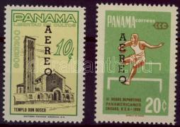 Forgalmi bélyegek felülnyomott sor, Definitive stamps overprinted set, Freimarken Satz mit Aufdruck
