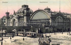 Dresden Railway station, Drezda pályaudvar