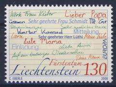 Europa CEPT the letter, Europa CEPT a levél, Europa CEPT Der Brief
