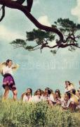1958 Chinese girls, propaganda, 1958 Kínai lányok, propaganda