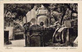 Prague Jewish cemetary, Prága Zsidó temető
