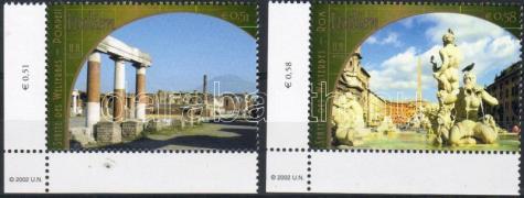 World heritage: Italy corner set, Kultúrörökség: Olaszország ívsarki sor, Welterbe: Italien Satz mit Rand