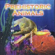 Prehistoric animals block, Ősállat blokk, Prähistorische Tiere Block