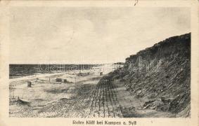 Rotes Kliff, Kampen, Rotes Kliff, Kampen