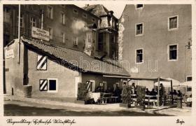 Regensburg, historical restaurant, Regensburg, történelmi étterem, Regensburg, Historische Wurstküche