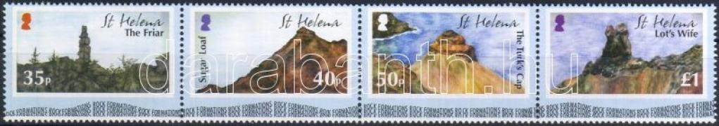 Landscapes stripe of 4, Tájak négyescsík, Landschaften Viererstreifen