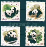 Giant panda set with phosphor stripe, Óriás panda sor foszforcsíkkal, Große Pandas Satz mit Phosphorstreifen
