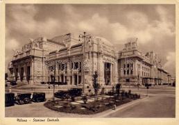 Milan railway station, Milanó vasútállomás