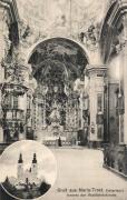 Graz Mariatrost church interior, Graz Mariatrost templombelső