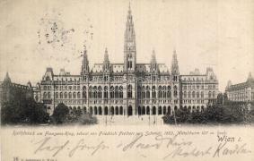 Bécs I. városháza, Vienna I. town hall