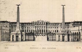 Vienna, Schönbrunn castle, Bécs, schönbrunni kastély
