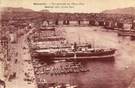 Marseille, port, Marseille, kikötő