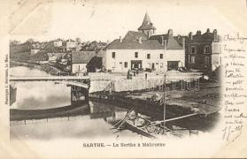 Malicorne-sur-Sarthe, birdge