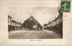 Milly, La Halle