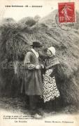 Francia folklór, Scenes Berrichones, Jalousie / French folklore, jealousy, Leo Houdiere poem