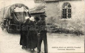 Saint-Jean-de-Monts, Maraichins / folklore, carriage