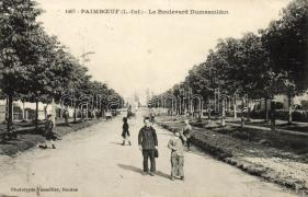 Paimboeuf, Le Boulevard Dumesnildot / street