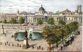 London, Trafalgar square, National gallery, automobile s: A. R. Quinton
