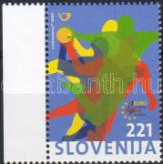 Handball European Cup margin stamp, Kézilabda EB ívszéli bélyeg, Handball-Europameisterschaft Marke mit Rand