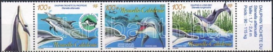 Dolphins margin stripe of 3, Delfinek ívszéli hármascsík, Delphin Dreierstreifen mit Rand