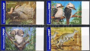 Wild animals margin set, Vadonélő állatok ívszéli sor, Wildlebende Tiere Satz mit Rand