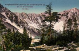 Karawanken, Karawanks, Hochstuhl, Klagenfurter Hütte