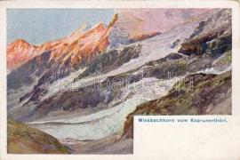 Wiesbachhorn artist signed, Wiesbachhorn szignós