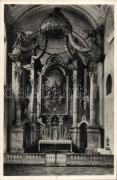 Eger, Ferencrendiek temploma, főoltár, belső