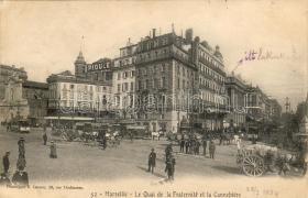 Marseille, square, shops, Marseille, tér, üzletek