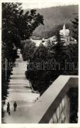 Borsec, Main street, Borszék, Fő úti sétány, kiadja Heiter György
