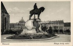 Cluj napoca, statue, Kolozsvár, Mátyás király szobor