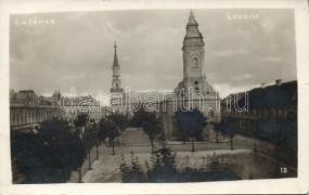 Lucenec, church, Losonc, templom