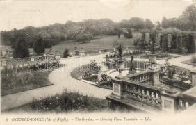 Isle of Wight, Osborne house, garden, Isle of Wight, Osborne ház, kert