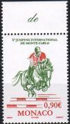 International Equestrian Championship margin stamp, Nemzetközi műlovagló torna ívszéli bélyeg, Internationales Springreitturnier Marke mit Rand