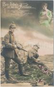 K.u.K. military card, artillery, cannon, K.u.K. katonai lap, tüzérség, ágyú
