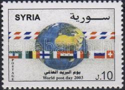 National Post Day, Postai világnap, Weltposttag
