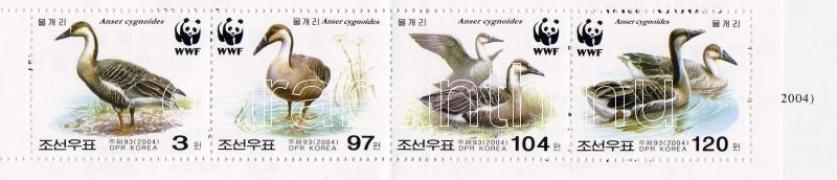 WWF wild geese stamp booklet, WWF vadlibák bélyegfüzet, WWF Schwanengans Markenheftchen