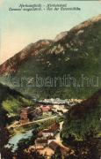 Herkulesfürdő, Coronini, Herkulesfürdő, Coronini magaslatról