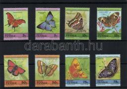 Lepkék sor Schmetterlinge Satz Butterflies set