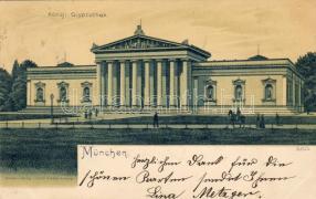 1899 München, Königliche Glyptothek, litho